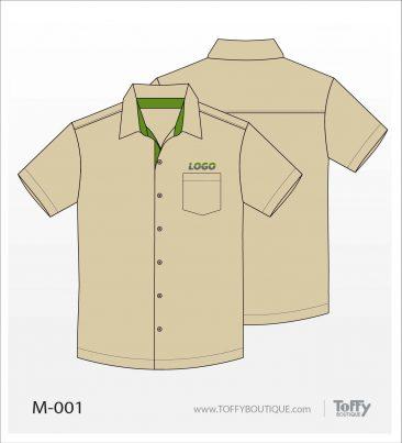เสื้อเชิ้ตช่าง ยูนิฟอร์ม 5-001