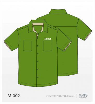 เสื้อเชิ้ตช่าง ยูนิฟอร์ม 5-002