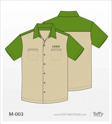 เสื้อเชิ้ตช่าง ยูนิฟอร์ม 5-003