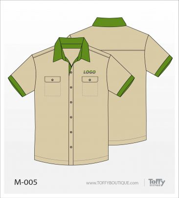 เสื้อเชิ้ตช่าง ยูนิฟอร์ม 5-005