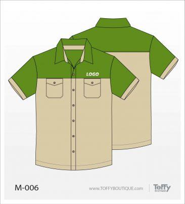 เสื้อเชิ้ตช่าง ยูนิฟอร์ม 5-006