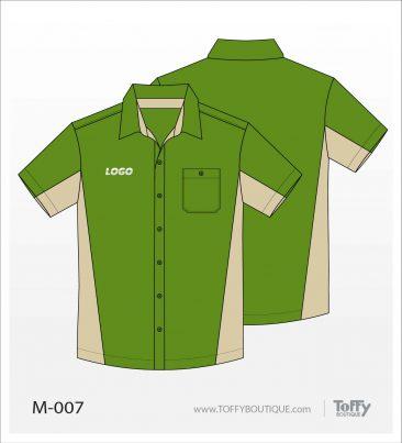 เสื้อเชิ้ตช่าง ยูนิฟอร์ม 5-007
