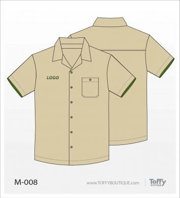 เสื้อเชิ้ตช่าง ยูนิฟอร์ม 5-008