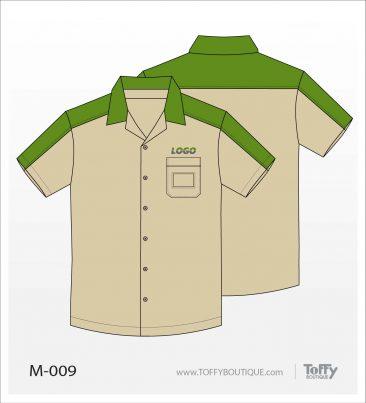 เสื้อเชิ้ตช่าง ยูนิฟอร์ม 5-009