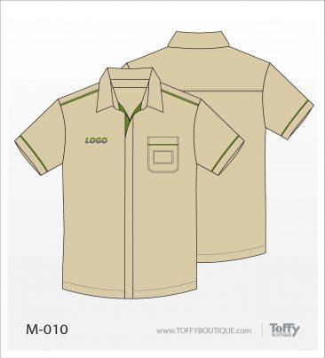 เสื้อเชิ้ตช่าง ยูนิฟอร์ม 5-010