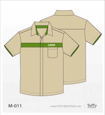 เสื้อเชิ้ตช่าง ยูนิฟอร์ม 5-011