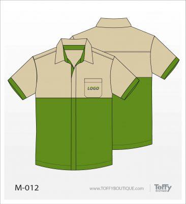 เสื้อเชิ้ตช่าง ยูนิฟอร์ม 5-012