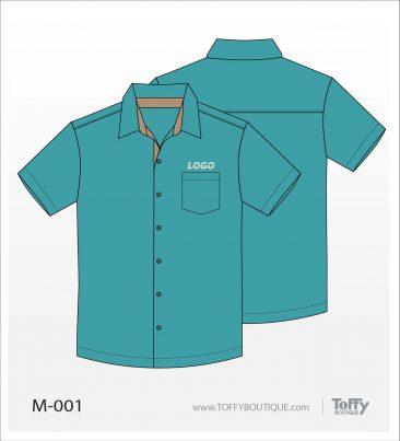 เสื้อเชิ้ตช่าง ยูนิฟอร์ม 6-001