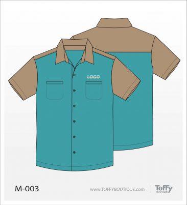 เสื้อเชิ้ตช่าง ยูนิฟอร์ม 6-003