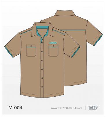 เสื้อเชิ้ตช่าง ยูนิฟอร์ม 6-004