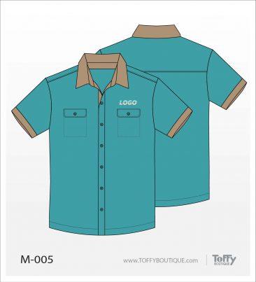 เสื้อเชิ้ตช่าง ยูนิฟอร์ม 6-005