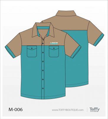 เสื้อเชิ้ตช่าง ยูนิฟอร์ม 6-006