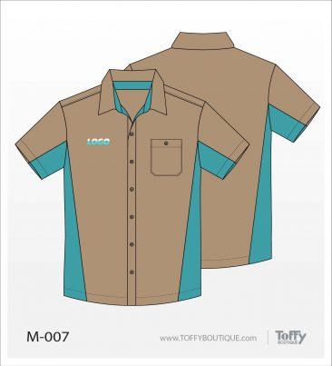 เสื้อเชิ้ตช่าง ยูนิฟอร์ม 6-007