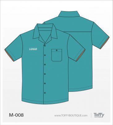 เสื้อเชิ้ตช่าง ยูนิฟอร์ม 6-008