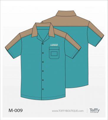 เสื้อเชิ้ตช่าง ยูนิฟอร์ม 6-009