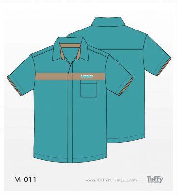 เสื้อเชิ้ตช่าง ยูนิฟอร์ม 6-011