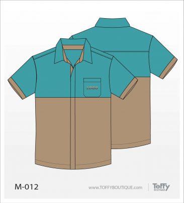 เสื้อเชิ้ตช่าง ยูนิฟอร์ม 6-012