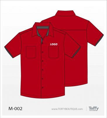 เสื้อเชิ้ตช่าง ยูนิฟอร์ม 7-002