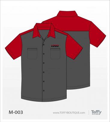 เสื้อเชิ้ตช่าง ยูนิฟอร์ม 7-003