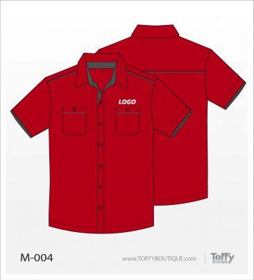 เสื้อเชิ้ตช่าง ยูนิฟอร์ม 7-004