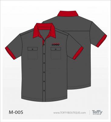 เสื้อเชิ้ตช่าง ยูนิฟอร์ม 7-005