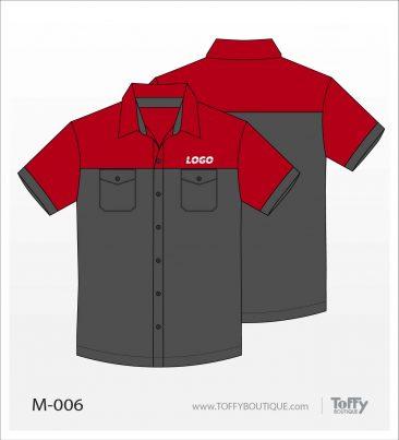 เสื้อเชิ้ตช่าง ยูนิฟอร์ม 7-006