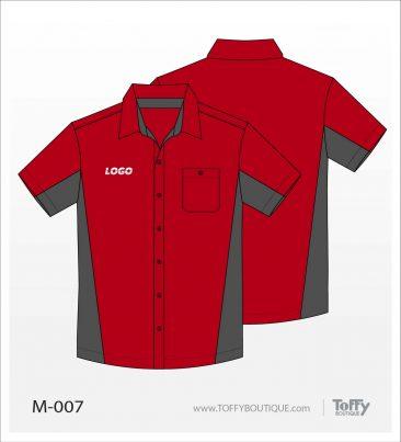 เสื้อเชิ้ตช่าง ยูนิฟอร์ม 7-007