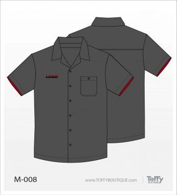เสื้อเชิ้ตช่าง ยูนิฟอร์ม 7-008