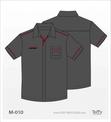 เสื้อเชิ้ตช่าง ยูนิฟอร์ม 7-010