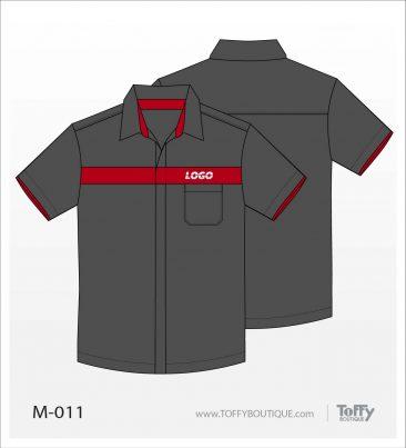 เสื้อเชิ้ตช่าง ยูนิฟอร์ม 7-011