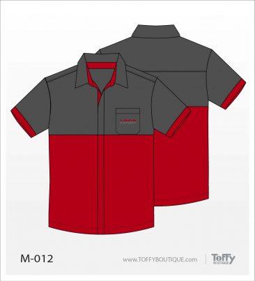 เสื้อเชิ้ตช่าง ยูนิฟอร์ม 7-012