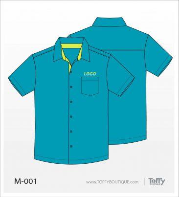 เสื้อเชิ้ตช่าง ยูนิฟอร์ม 8-001