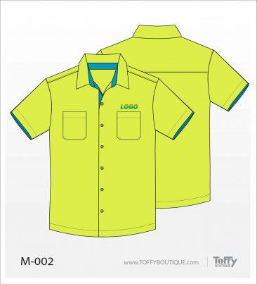 เสื้อเชิ้ตช่าง ยูนิฟอร์ม 8-002