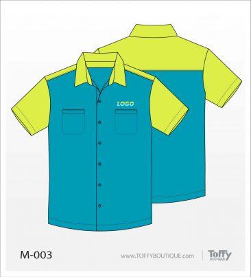 เสื้อเชิ้ตช่าง ยูนิฟอร์ม 8-003