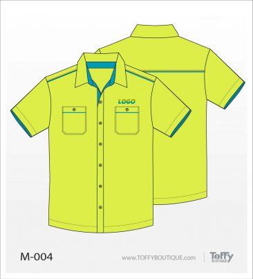เสื้อเชิ้ตช่าง ยูนิฟอร์ม 8-004