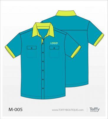 เสื้อเชิ้ตช่าง ยูนิฟอร์ม 8-005