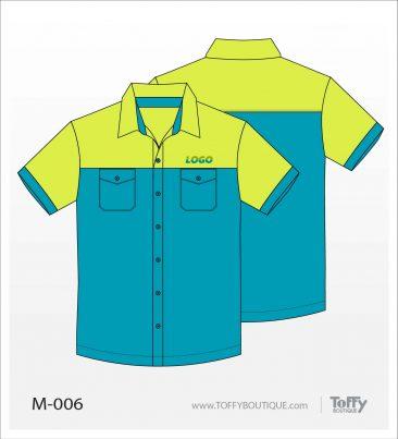เสื้อเชิ้ตช่าง ยูนิฟอร์ม 8-006