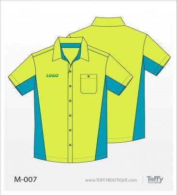 เสื้อเชิ้ตช่าง ยูนิฟอร์ม 8-007