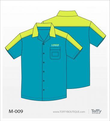เสื้อเชิ้ตช่าง ยูนิฟอร์ม 8-009
