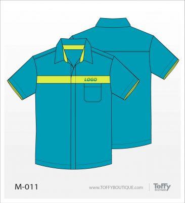 เสื้อเชิ้ตช่าง ยูนิฟอร์ม 8-011