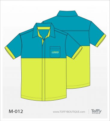 เสื้อเชิ้ตช่าง ยูนิฟอร์ม 8-012